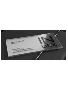 כרטיס ביקור index